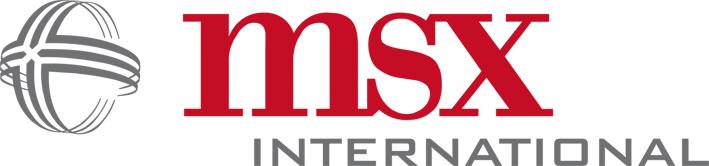 Logo vom Unternehmen  MSX International GmbH