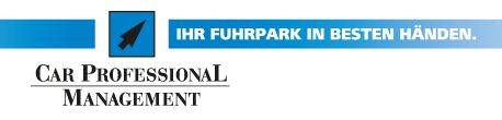 Logo vom Unternehmen  Car Professional Fuhrpark- management & Beratungs