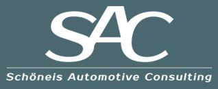 Logo vom Unternehmen  SAC – Schöneis Automotive Consulting